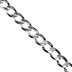 Srebrny łańcuszek - 14373-14373: zdjęcie 6