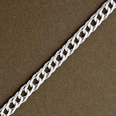 Srebrny łańcuszek - 16433 16433
