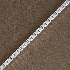 Srebrny łańcuszek - 16348-16348: zdjęcie 1