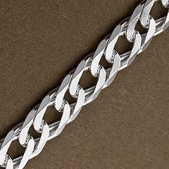 Srebrny łańcuszek - 16413