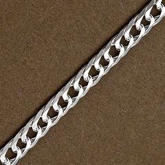 Srebrny łańcuszek - 16414 16414