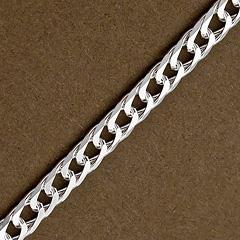 Srebrny łańcuszek - 16417 16417