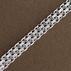 Srebrny łańcuszek - 16420-16420: zdjęcie 2