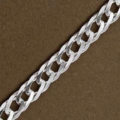 Srebrny łańcuszek - 16425 16425