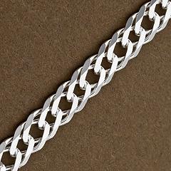 Srebrny łańcuszek - 16429 16429