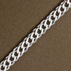 Srebrny łańcuszek - 16430 16430