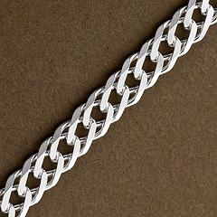 Srebrny łańcuszek - 16431 16431
