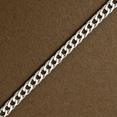 Srebrny łańcuszek - 16434 16434