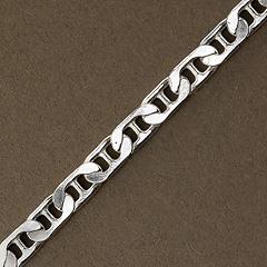 Srebrny łańcuszek - 6737 6737