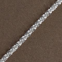 Srebrny łańcuszek - 6760-6760: zdjęcie 2