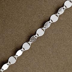 Srebrny łańcuszek - 8823 8823