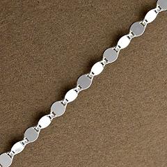 Srebrny łańcuszek - 8829 8829