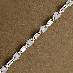 Srebrny łańcuszek - 8833