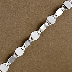 Srebrny łańcuszek - 8835 8835