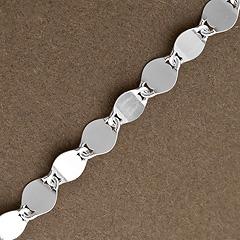 Srebrny łańcuszek - 8836 8836