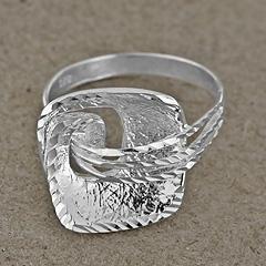 Srebrny pierscionek - 11301-11301: zdjęcie 2
