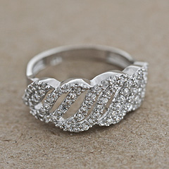 Srebrny pierscionek - 12664 12664