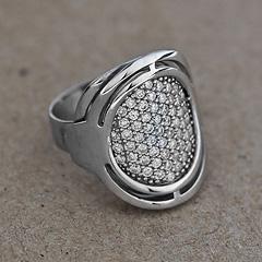 Srebrny pierscionek - 12913-12913: zdjęcie 8