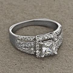 Srebrny pierscionek - 12964-12964: zdjęcie 7