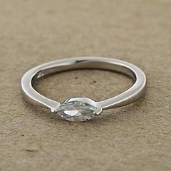 Srebrny pierscionek - 13156 13156