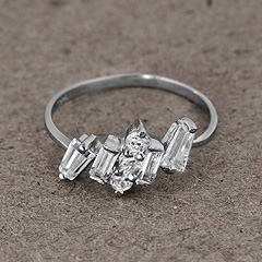 Srebrny pierscionek - 13940-13940: zdjęcie 8