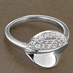 Srebrny pierscionek - 15243 15243