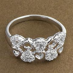 Srebrny pierscionek - 15246 15246