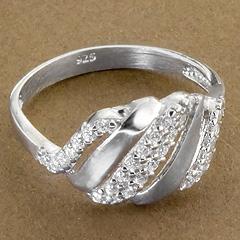 Srebrny pierscionek - 15265 15265