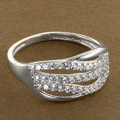 Srebrny pierscionek - 15308 15308