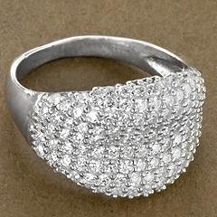 Srebrny pierscionek - 15331 15331