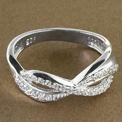 Srebrny pierscionek - 15333 15333