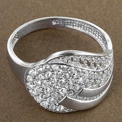 Srebrny pierscionek - 15338 15338