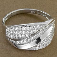 Srebrny pierscionek - 15345 15345