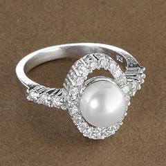 Srebrny pierscionek - 15553 15553