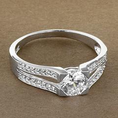 Srebrny pierscionek - 15757 15757