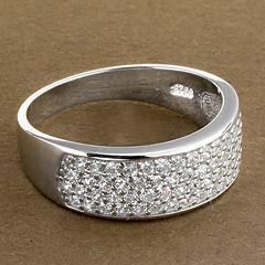 Srebrny pierscionek - 15763 15763