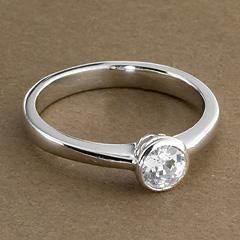 Srebrny pierscionek - 15769 15769