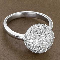 Srebrny pierscionek - 15805 15805