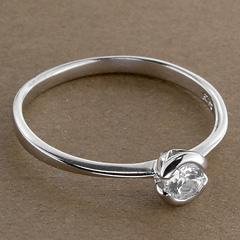 Srebrny pierscionek - 15810 15810