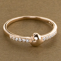 Srebrny pierscionek - 15816 15816