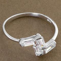 Srebrny pierscionek - 15848 15848