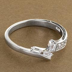 Srebrny pierscionek - 15871 15871