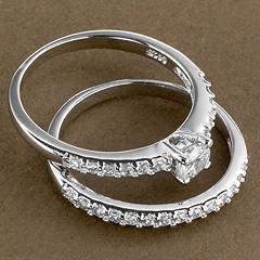 Srebrny pierscionek - 15959 15959