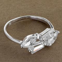 Srebrny pierscionek - 16000-16000: zdjęcie 1