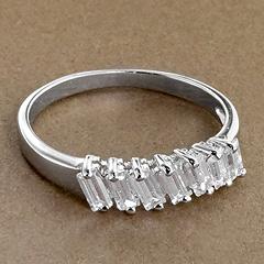 Srebrny pierscionek - 16147 16147