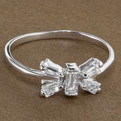 Srebrny pierscionek - 16156 16156