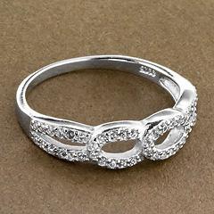 Srebrny pierscionek - 16186 16186