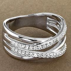 Srebrny pierscionek - 16218 16218