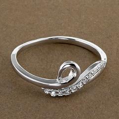 Srebrny pierscionek - 16231 16231