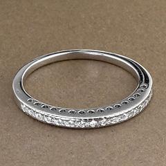 Srebrny pierscionek - 16234 16234